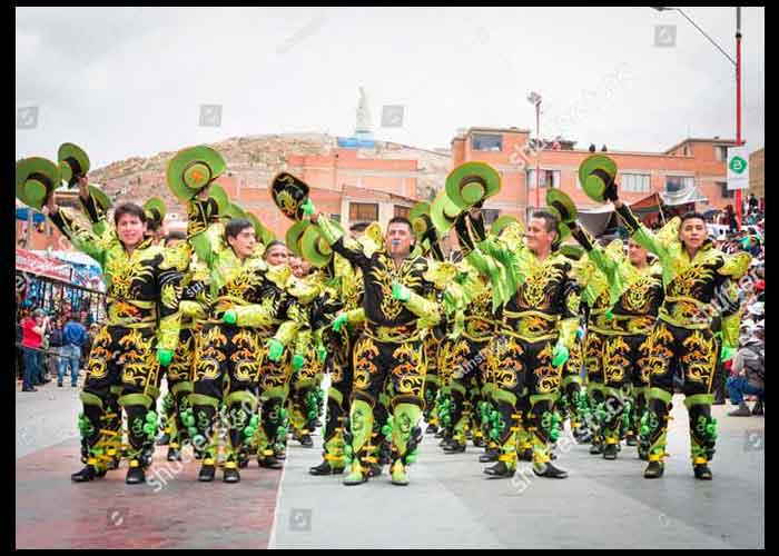caporales tradicional traje de varon