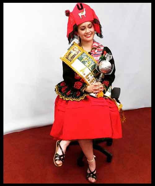 la llamerada de bolivia traje mujer